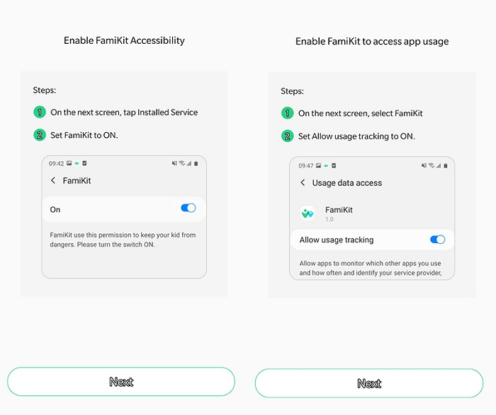 get accessibility for FamiKit